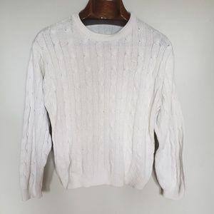 Izod // soft knit crew neck pullover